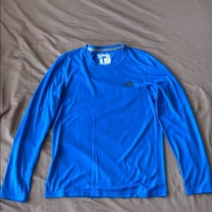 Men's Adidas Long Sleeve Athletic Tee